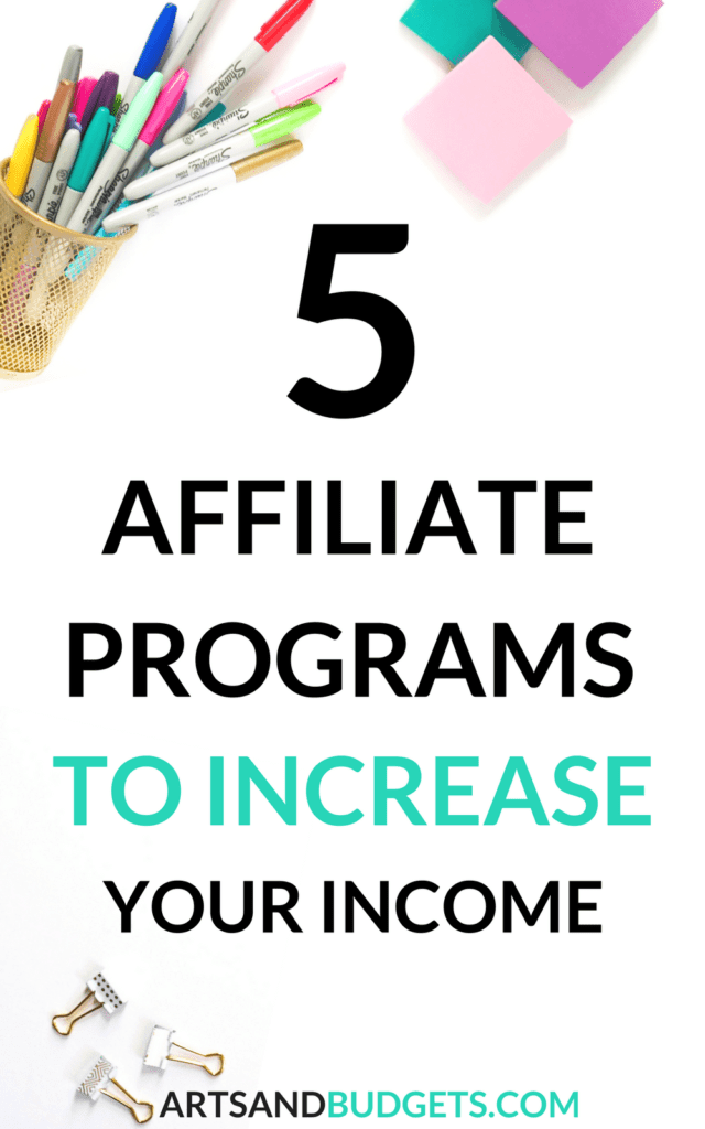 5 Affiliate Marketing Programs to Monetize Your Blog
