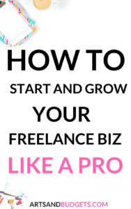 How to start and grow a freelance business