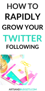 How to grow your twitter following