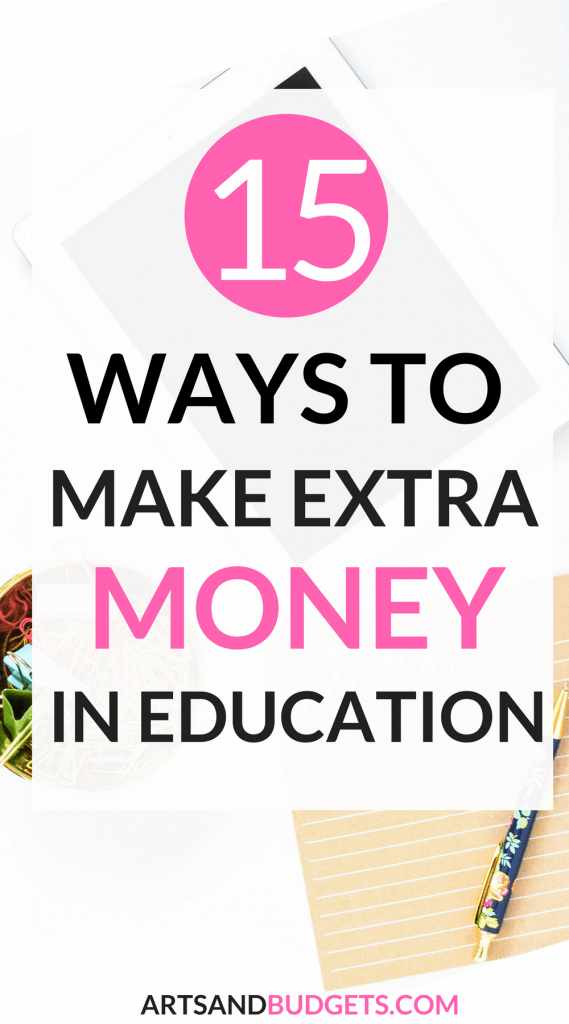 Ways to make extra money in education (2)