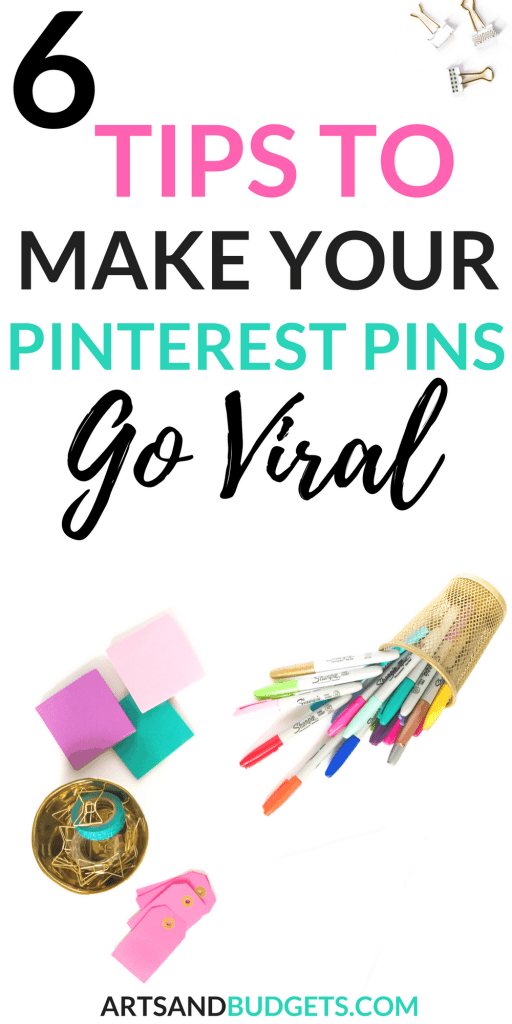 6 Tips To Make Your Pinterest Pins Go Viral