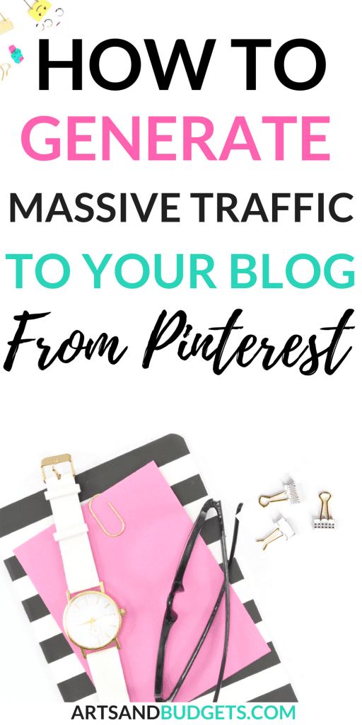 How I grew my Pinterest Monthly views to 1 million in 1 month (1)
