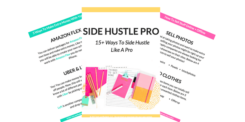 Side Hustle Guide promo cover