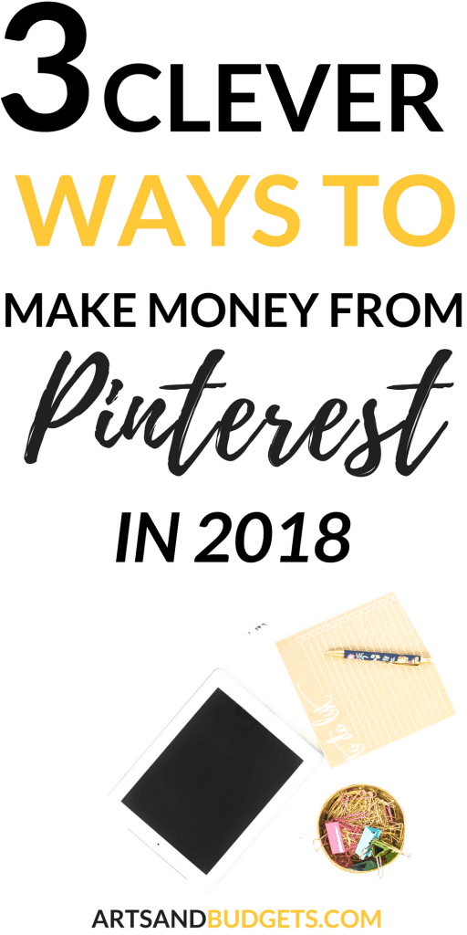 how to make money from Pinterest with your blog