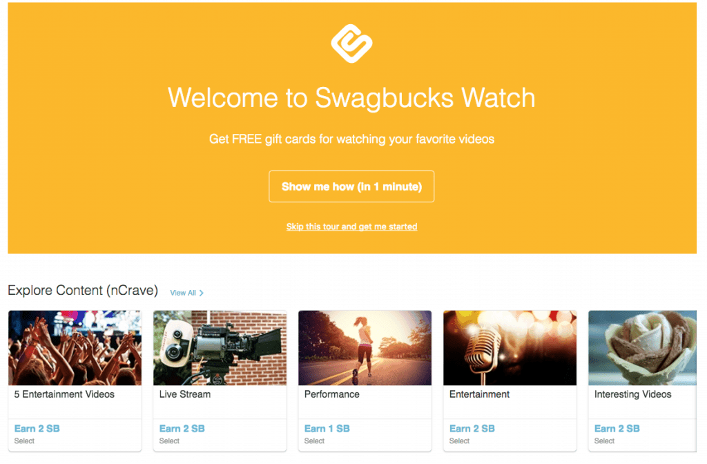 How to earn money from Swagbucks