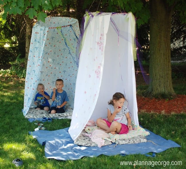 Fun activity for children in the summer