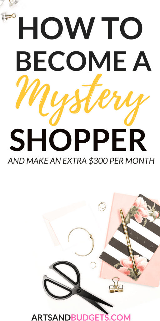 How to become a Mystery Shopper and make money from home (1)