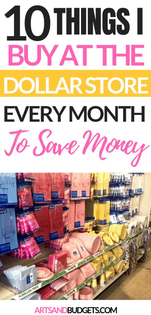 Dollar Store Save Money
