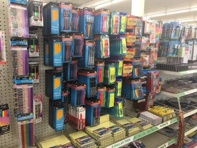 f9264126ef Did you know you can find great school supplies right from the dollar store   Whatttt  Yes