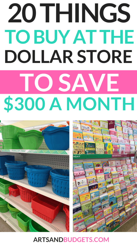 20 Things You Can Buy At The Dollar Store To Save Money