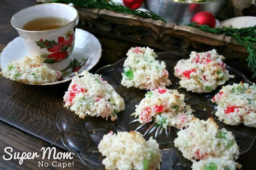 Coconut-Cherry-Drop-Cookies