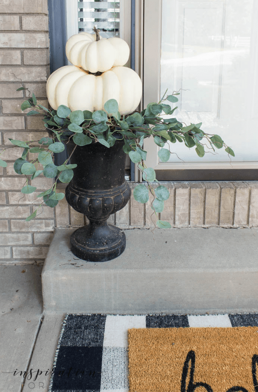 Easy DIY Fall Pumpkin Topiary