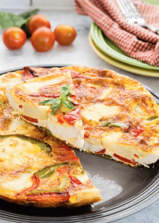 Roast Turkey Frittata