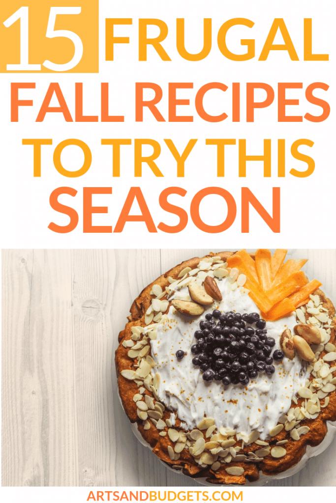 frugal fall recipes