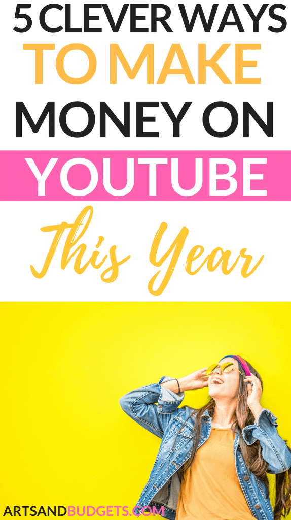 Make money on youtube girl