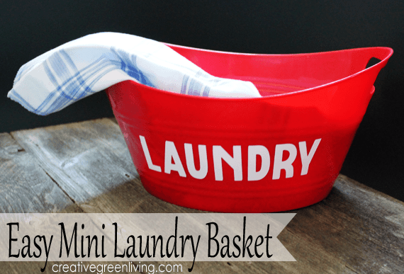 Keep Laundry clean basket