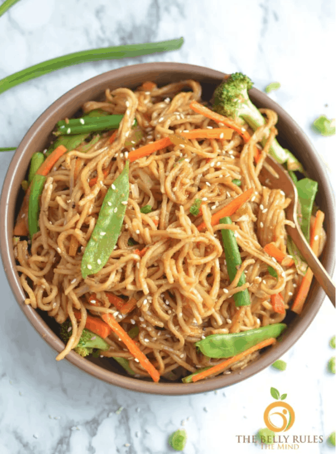 INSTANT POT VEGETABLE CHOW MEIN