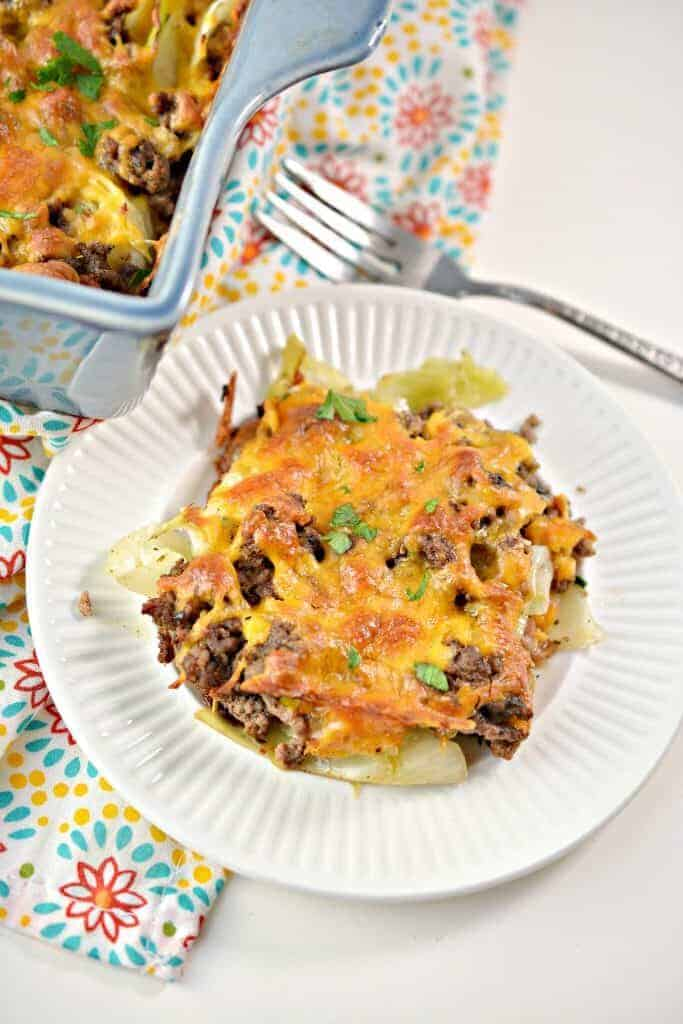 Keto Cabbage Beef