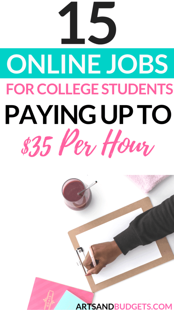 15 best online jobs for college students to make money