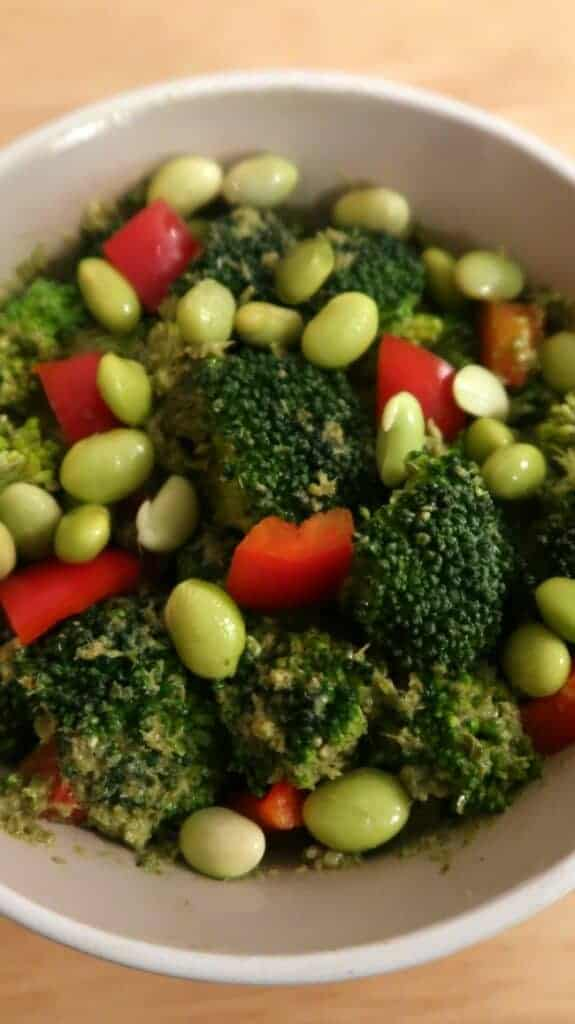Vegan Broccoli Salad