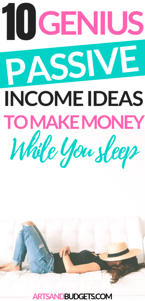 Passive Income Ideas to make money