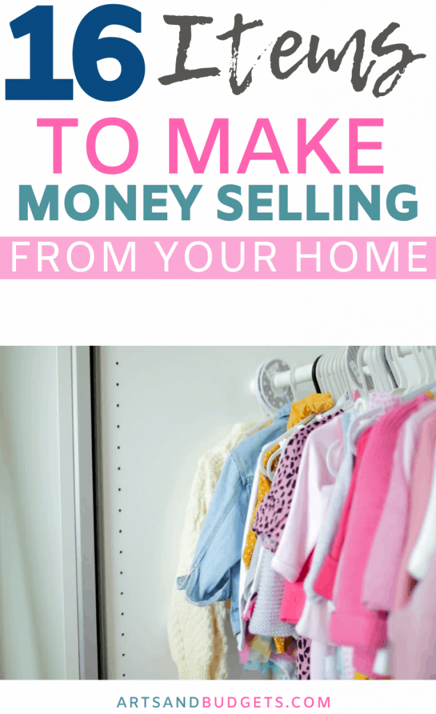 How to make money selling items