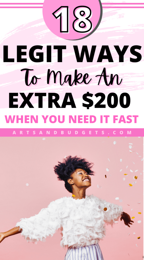 How To Make $200 Right Now