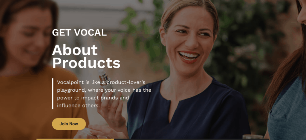 Test free products with Vocal Point